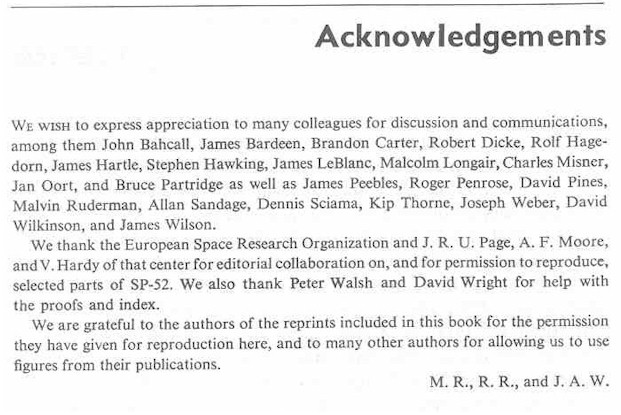 Acknowledgement in dissertation